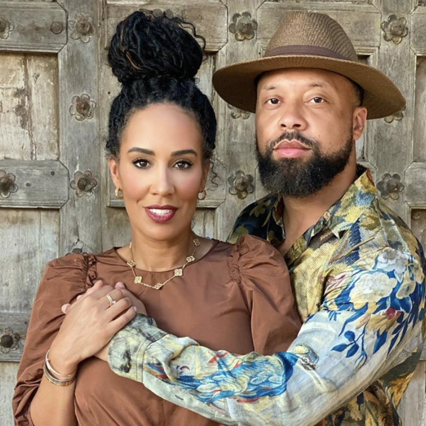 'Real Housewives Of Atlanta' Star Tanya Sam And Fiancé Paul Judge Get Wild On Their African Safari