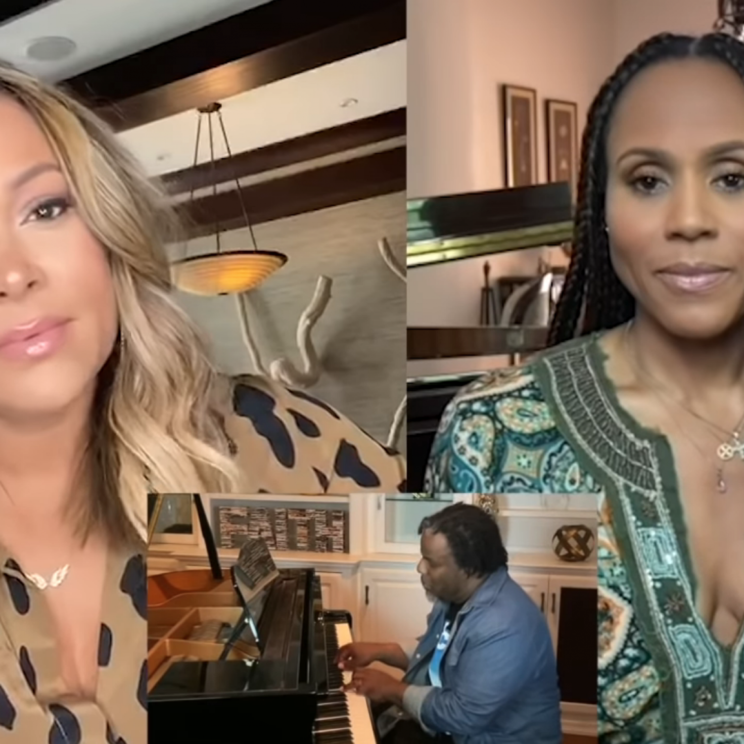 Tamia And Deborah Cox Lift Spirits With Cover Of 'Count On Me'