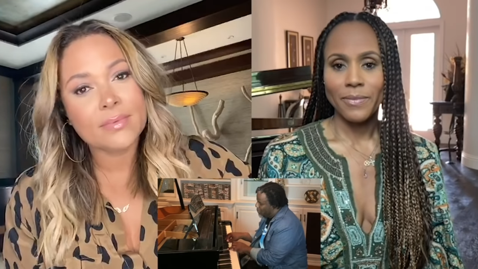 Tamia And Deborah Cox Lift Spirits With Cover Of Whitney Houston's 'Count On Me'