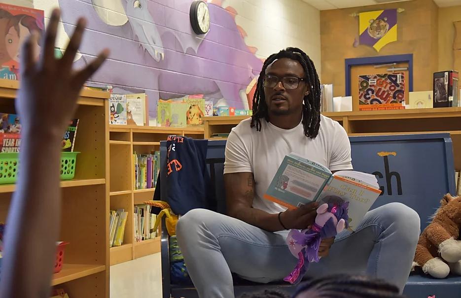 Brandon Carr Is Bringing Literacy To Black Children Through Lit Buddies