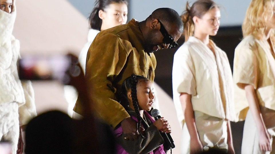 Kanye West Presents Yeezy Season 8 At Paris Fashion Week