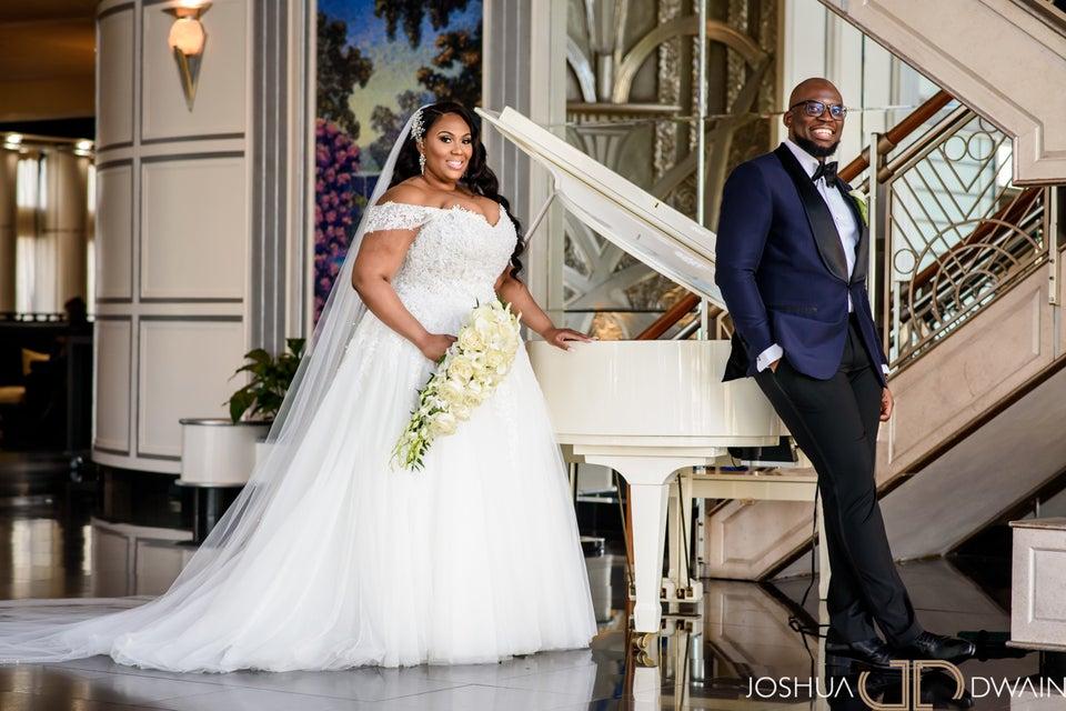 Bridal Bliss: Tiffany And Matthew's Glam New York Wedding