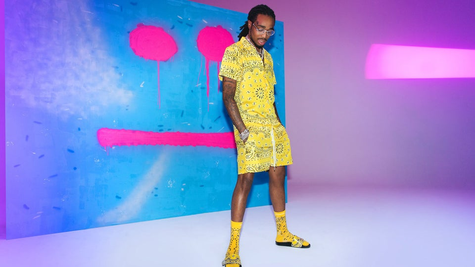 Quavo Releases Second Collection With Boohoo Man