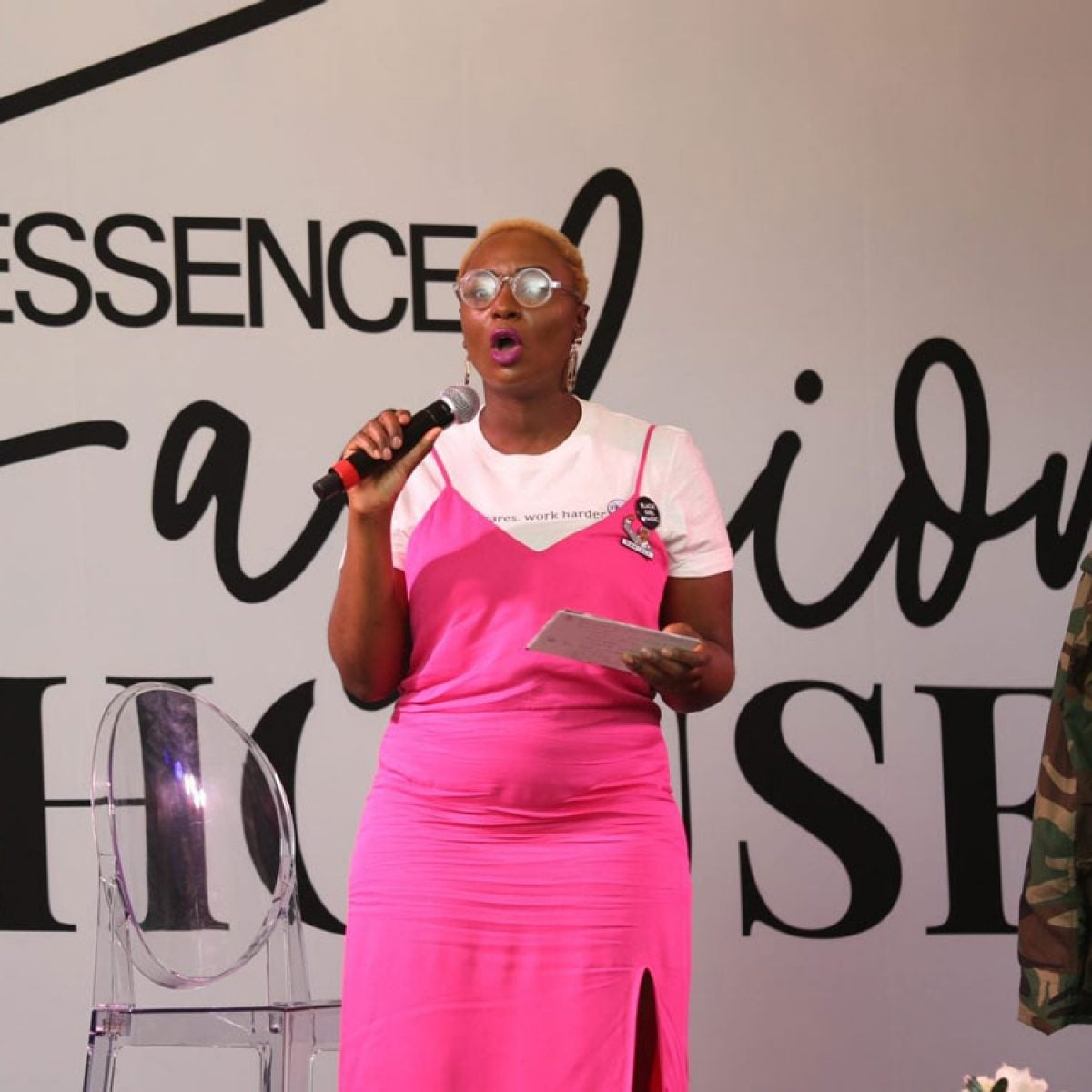 Mess In A Bottle Stops By Shop ESSENCE Live