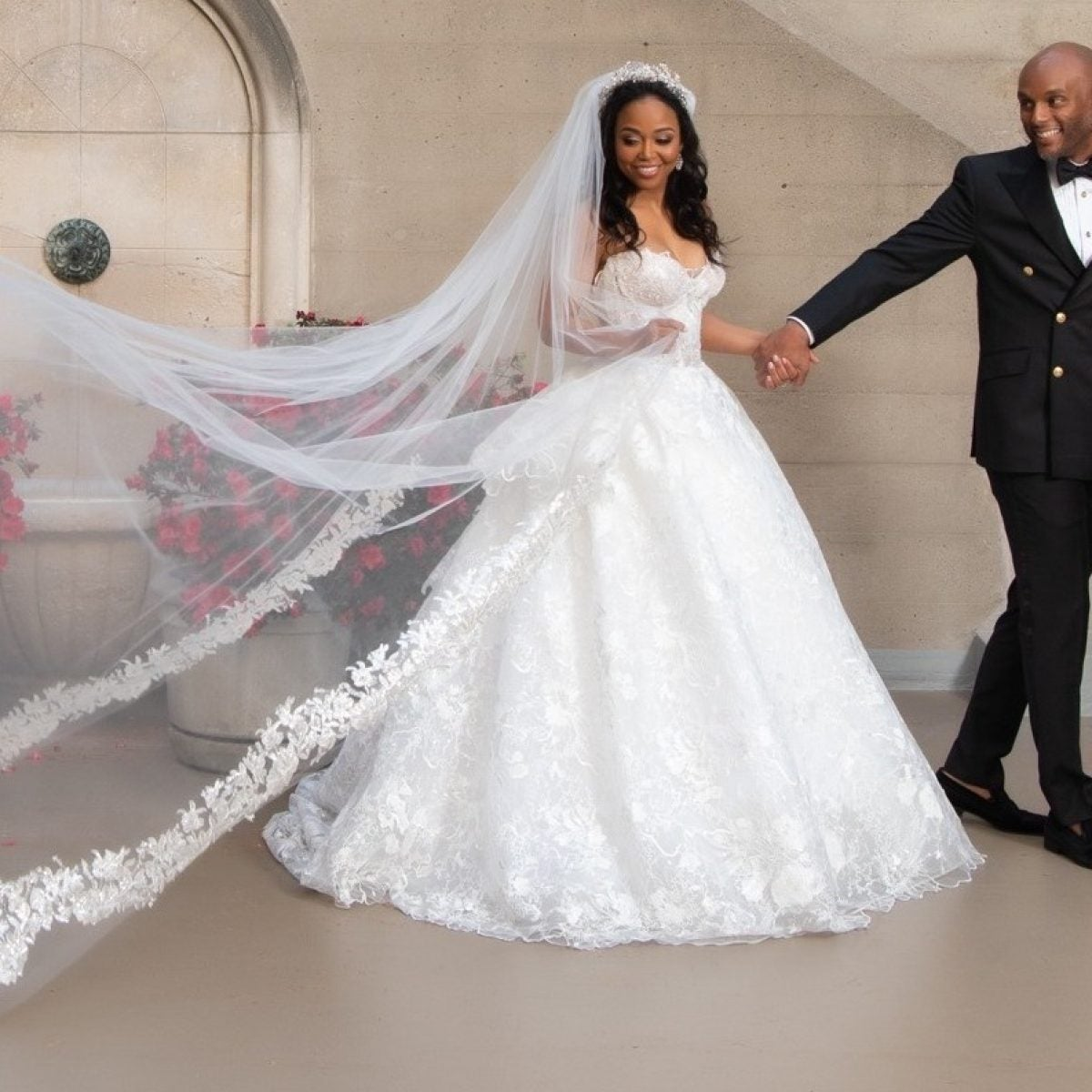 Bridal Bliss Exclusive: Kenny Lattimore And Judge Faith's Sunny L.A. Wedding