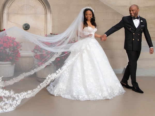 Kenny Lattimore And Judge Faith's Exclusive Wedding Photos