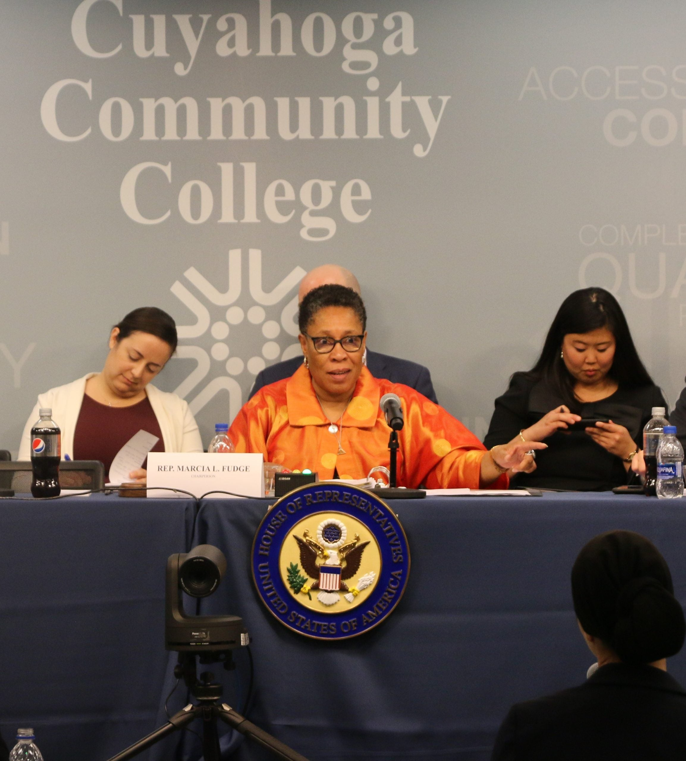 Rep. Marcia Fudge, CBC member and Chair of the House Administration Subcommittee on Elections