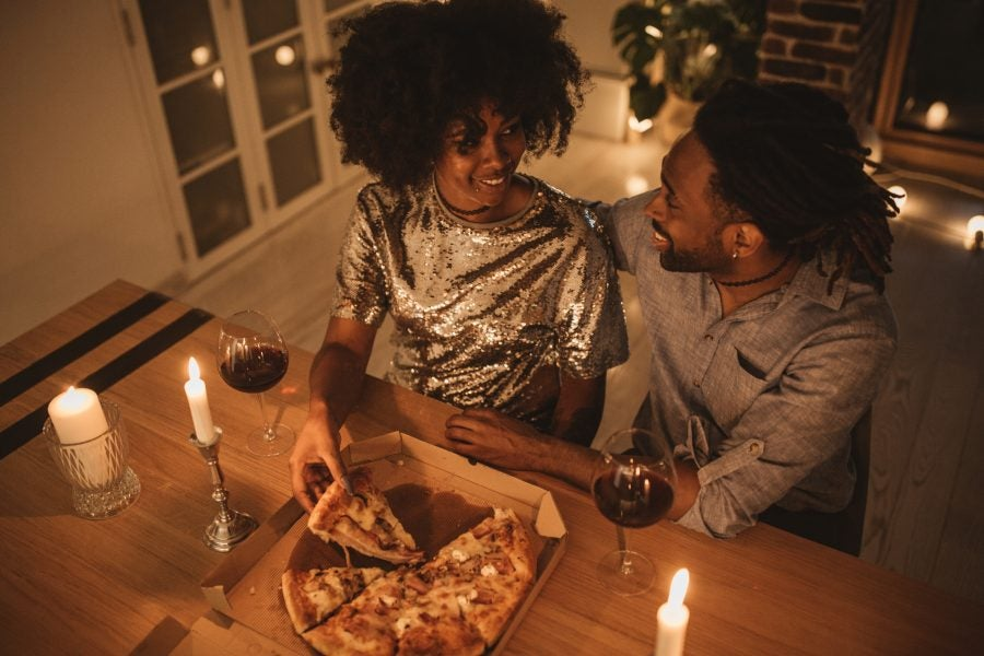 Come Through Romance! How These Cute Couples Are Making Date Night Magic In Their Living Rooms