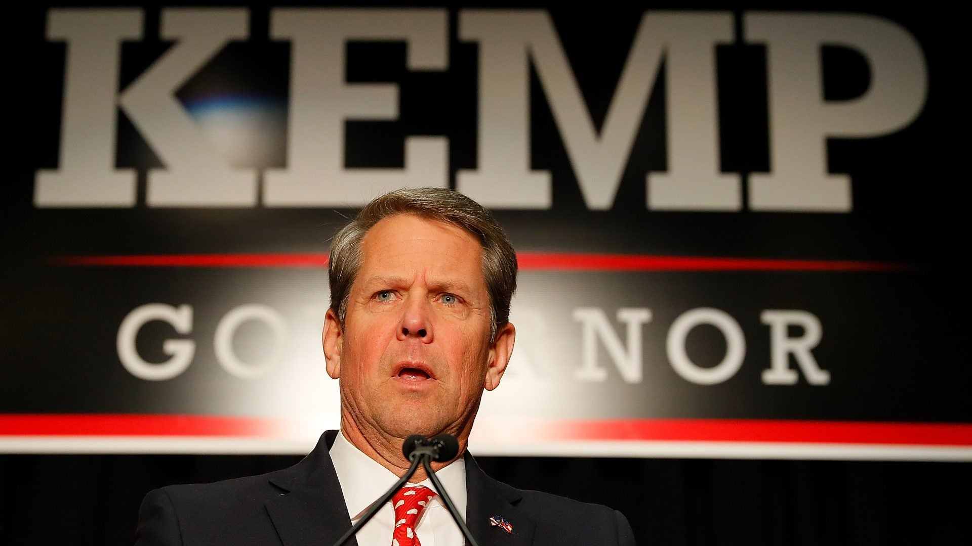 Georgia Gov. Brian Kemp Forbids Mask Mandates Amid Surge In COVID-19 Cases