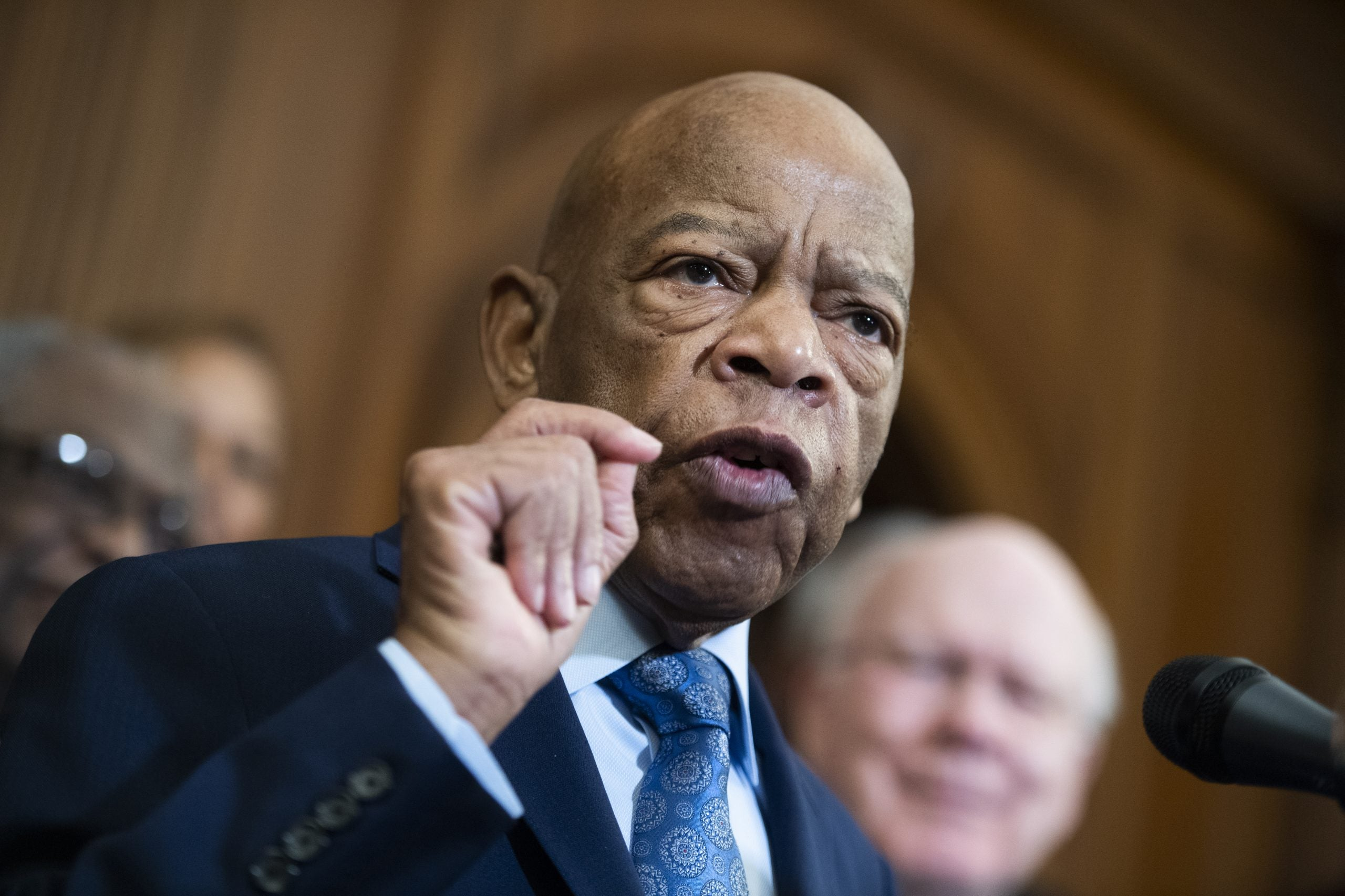 John Lewis calls for justice in the impeachment trial of Donald Trump