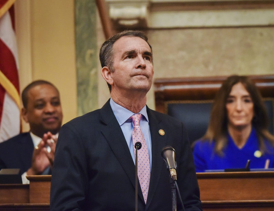 Virginia Gov. Ralph Northam Signs Series Of Bills To Expand Access To Voting