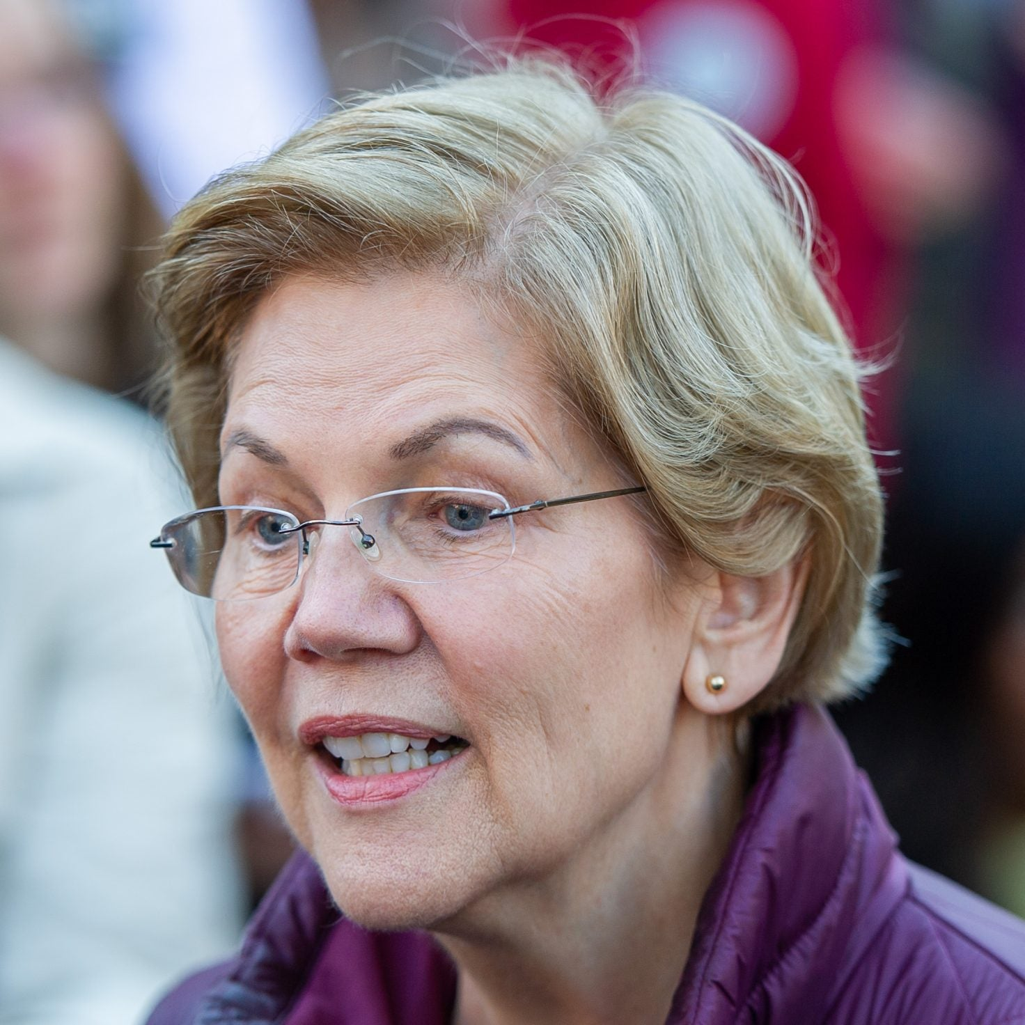 Sen. Elizabeth Warren Says She'd Be Joe Biden's Running Mate If Asked