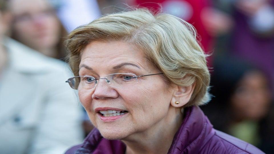 Sen. Elizabeth Warren Says She'd Be Joe Biden's Running Mate If Asked