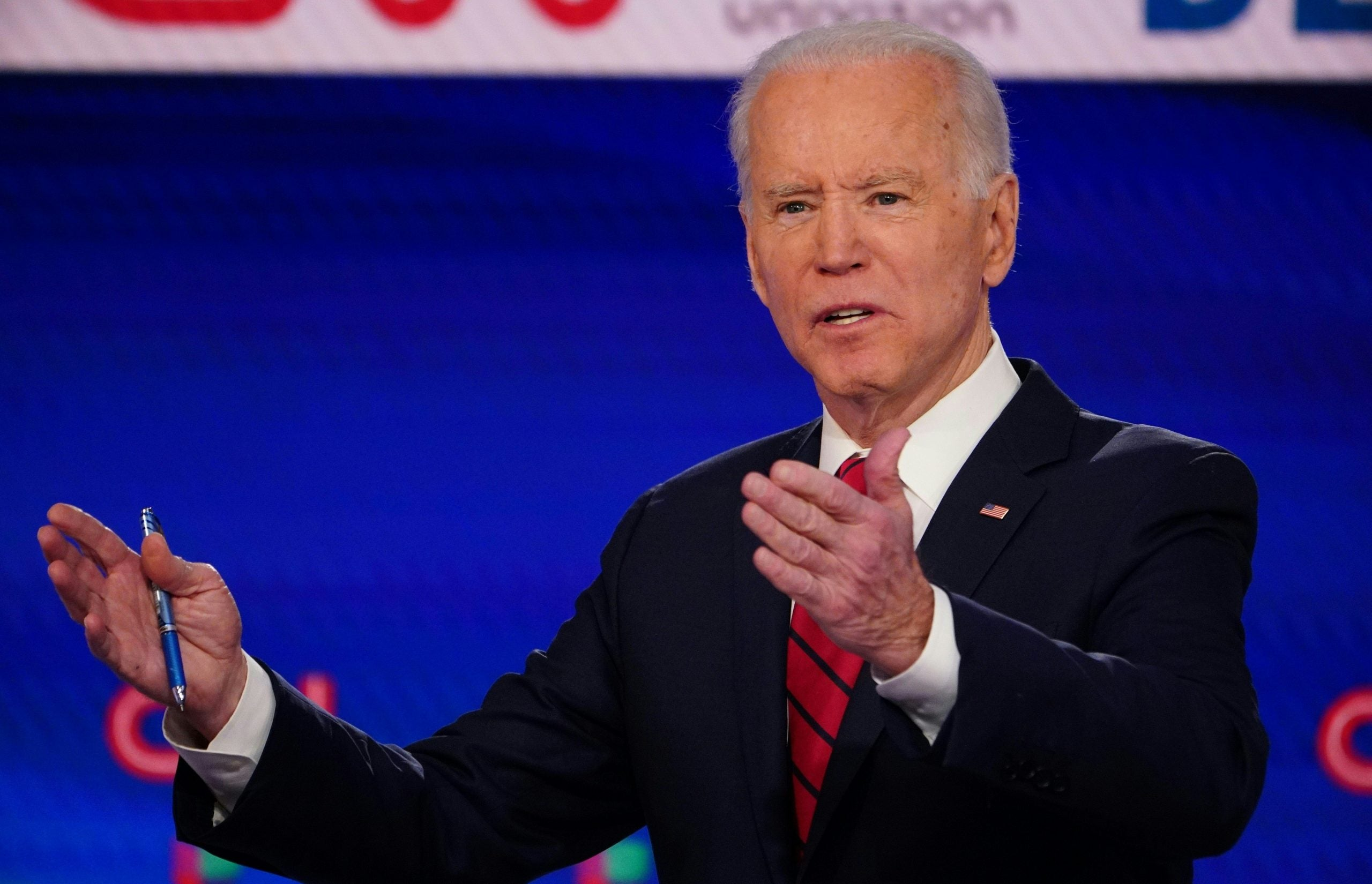 Joe Biden - the former VP says sexual assaualt allegations against him are not true.
