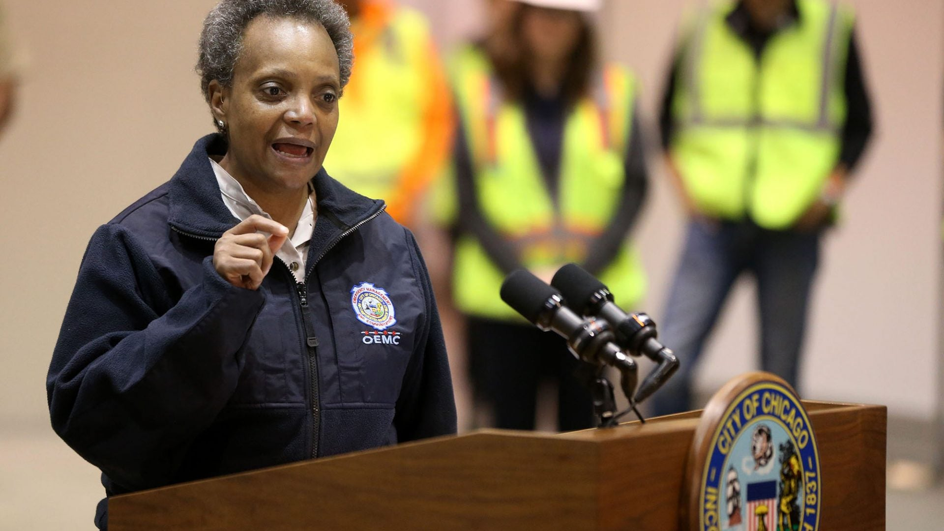 Chicago Mayor Lori Lightfoot Faces Backlash After Getting Haircut During Pandemic
