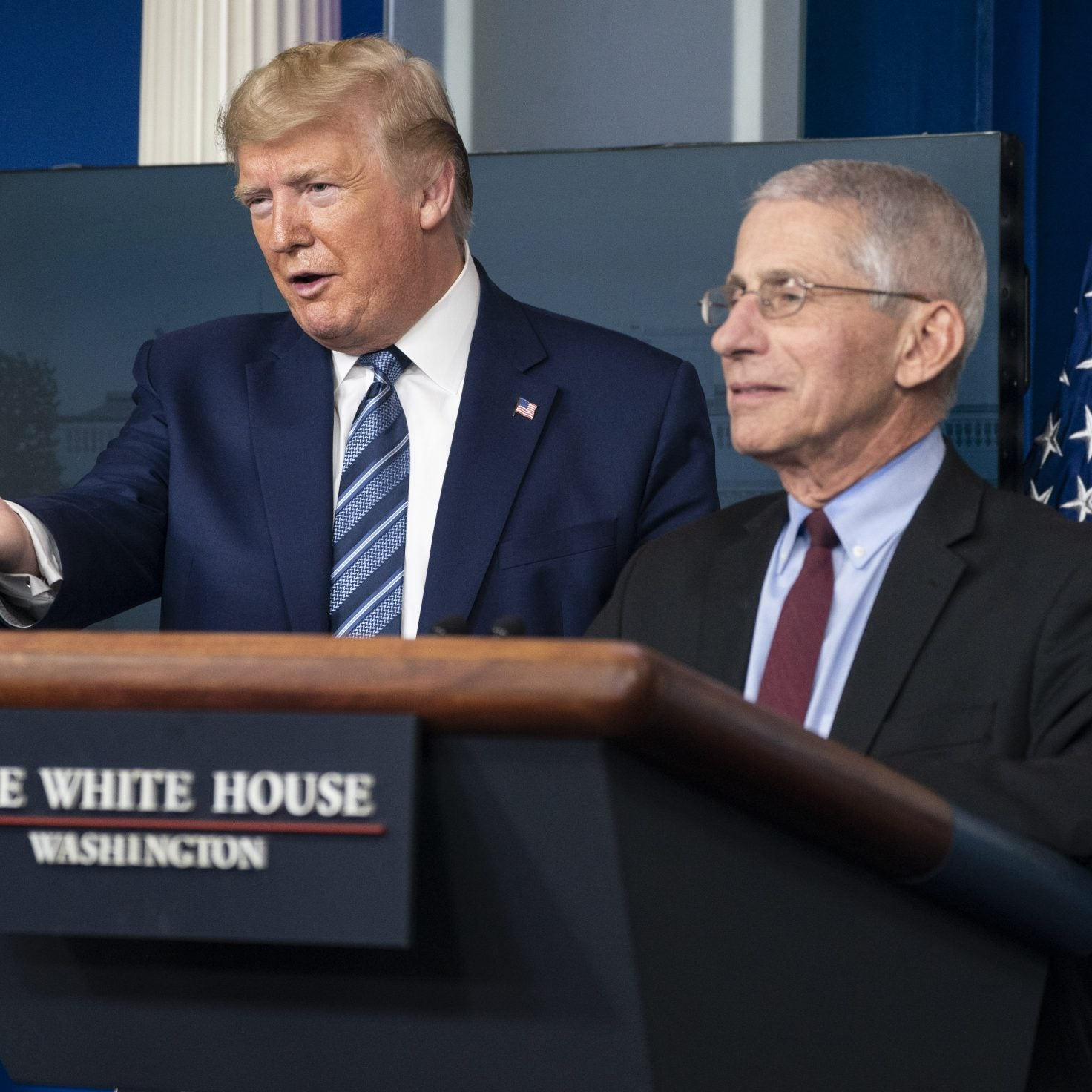 Trump, Fauci Continue To Give Conflicting Statements On Reopening Economy