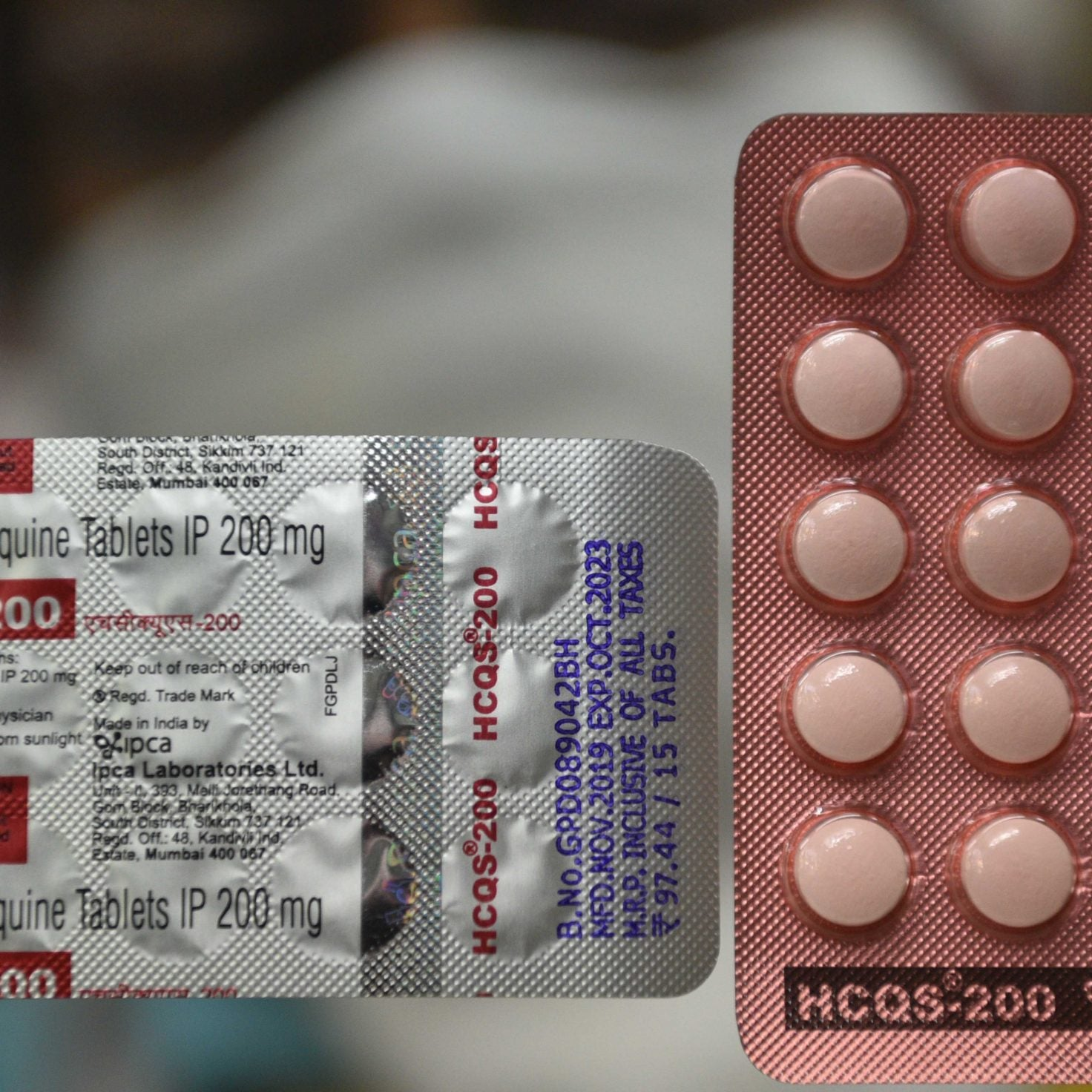 Hydroxychloroquine Doesn't Work For Severely Ill Coronavirus Patients, Preliminary Study Results Show