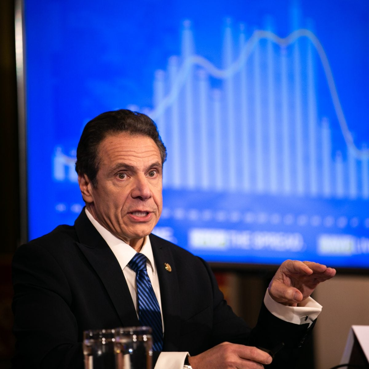Cuomo Calls McConnell's Bankruptcy Suggestion 'Really Dumb'