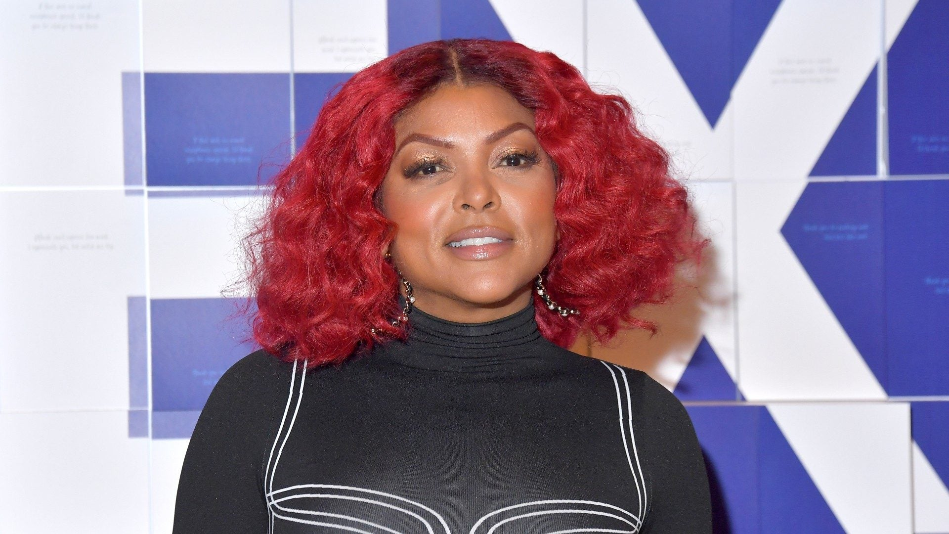Taraji P. Henson Does Her Hair And Makeup Like A Pro