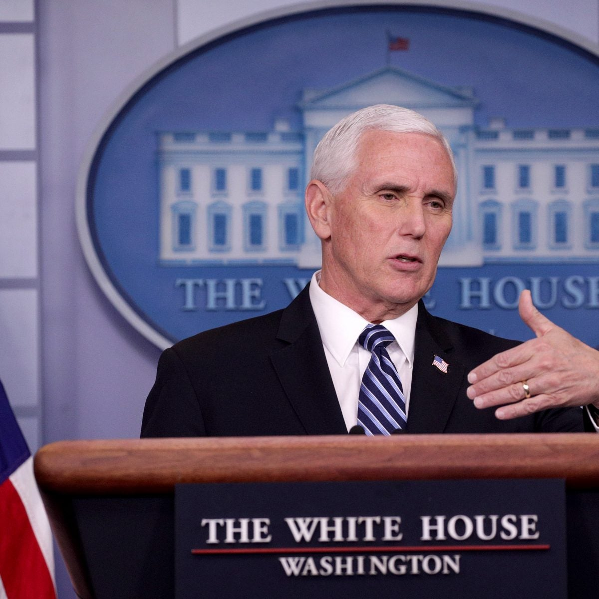 VP Mike Pence Didn't Wear A Mask While Speaking At Mayo Clinic