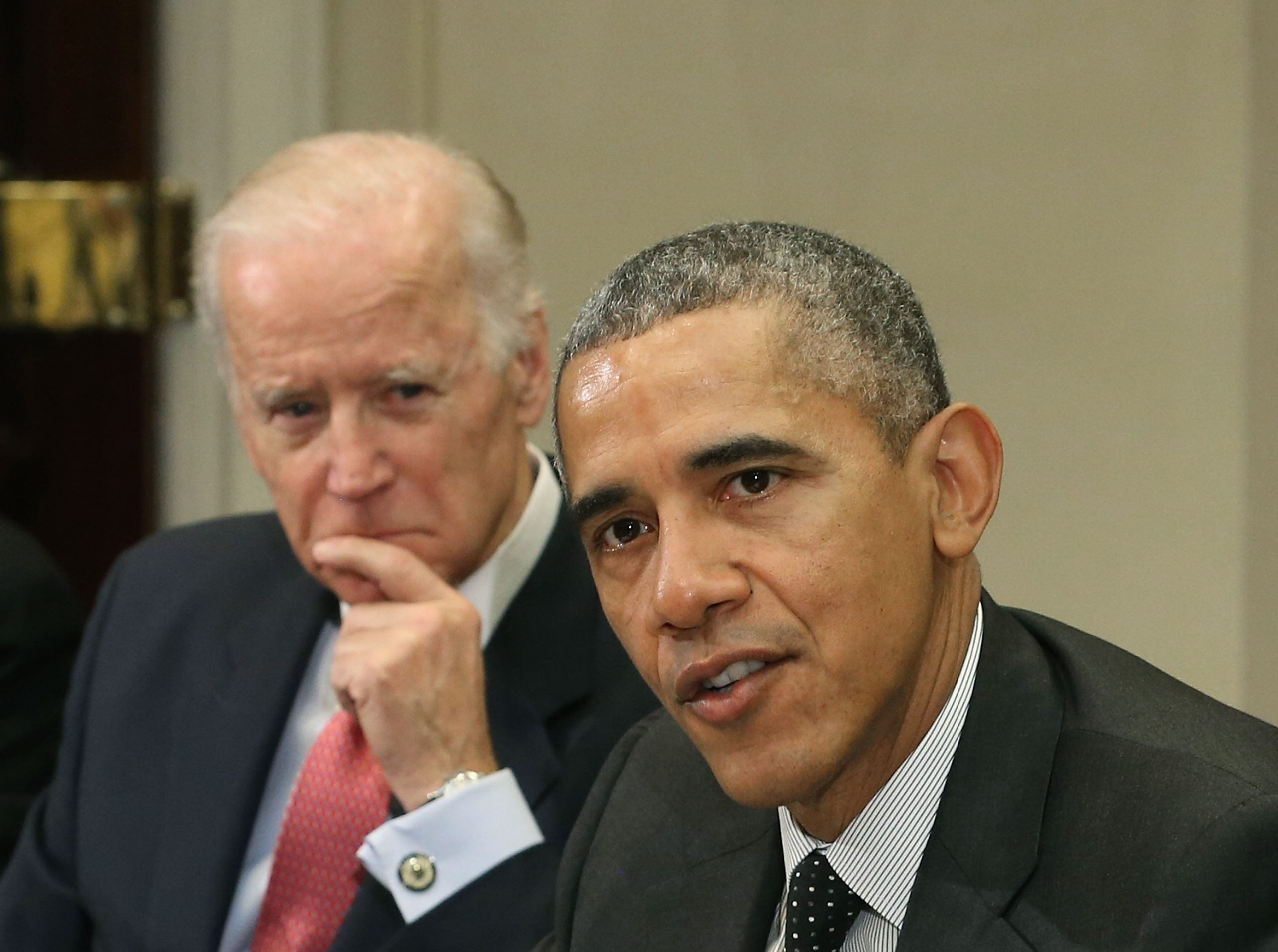 Barack Obama endorsed Joe Biden on Tuesday