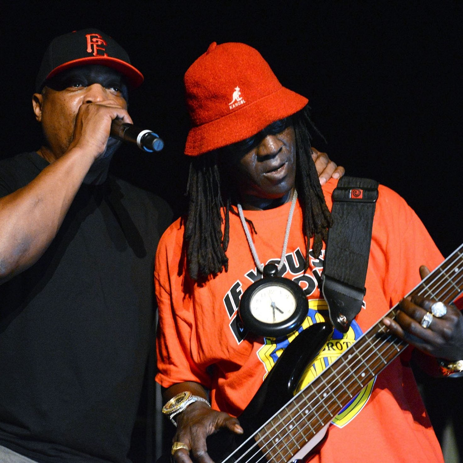 Public Enemy's Chuck D Says Flavor Flav Beef Was A Hoax To Promote Music