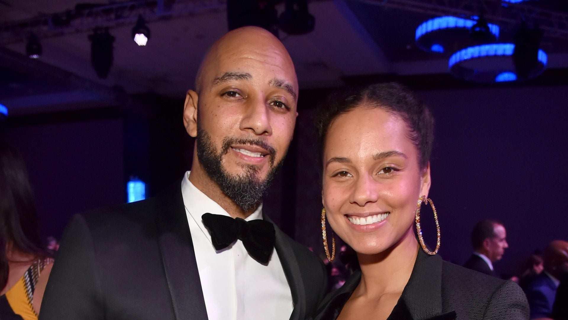Alicia Keys And Husband Swizz Beatz Struggle To Remove Gel Manicure Just Like Us