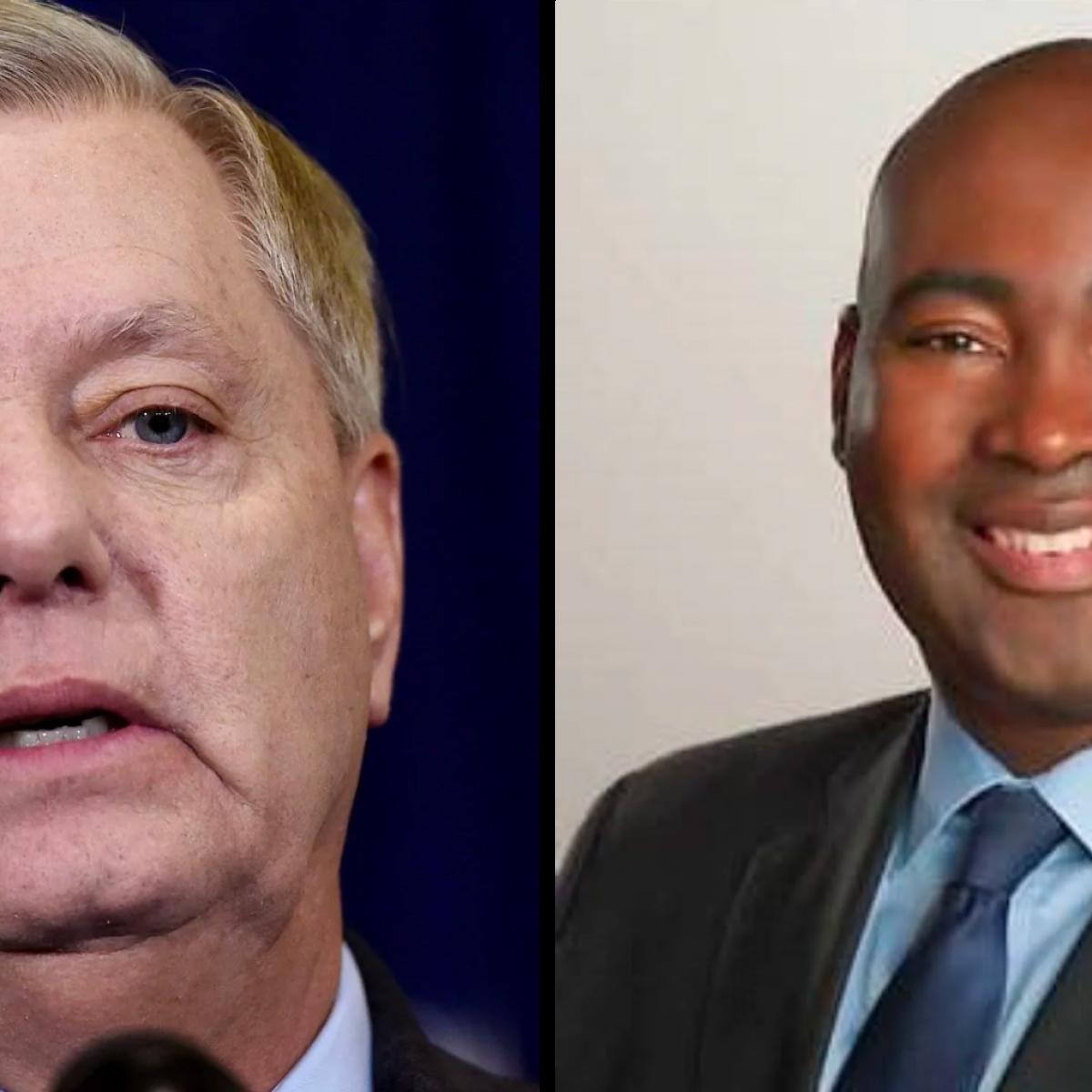 Sen. Lindsey Graham Outraised By Challenger Jaime Harrison In Q1