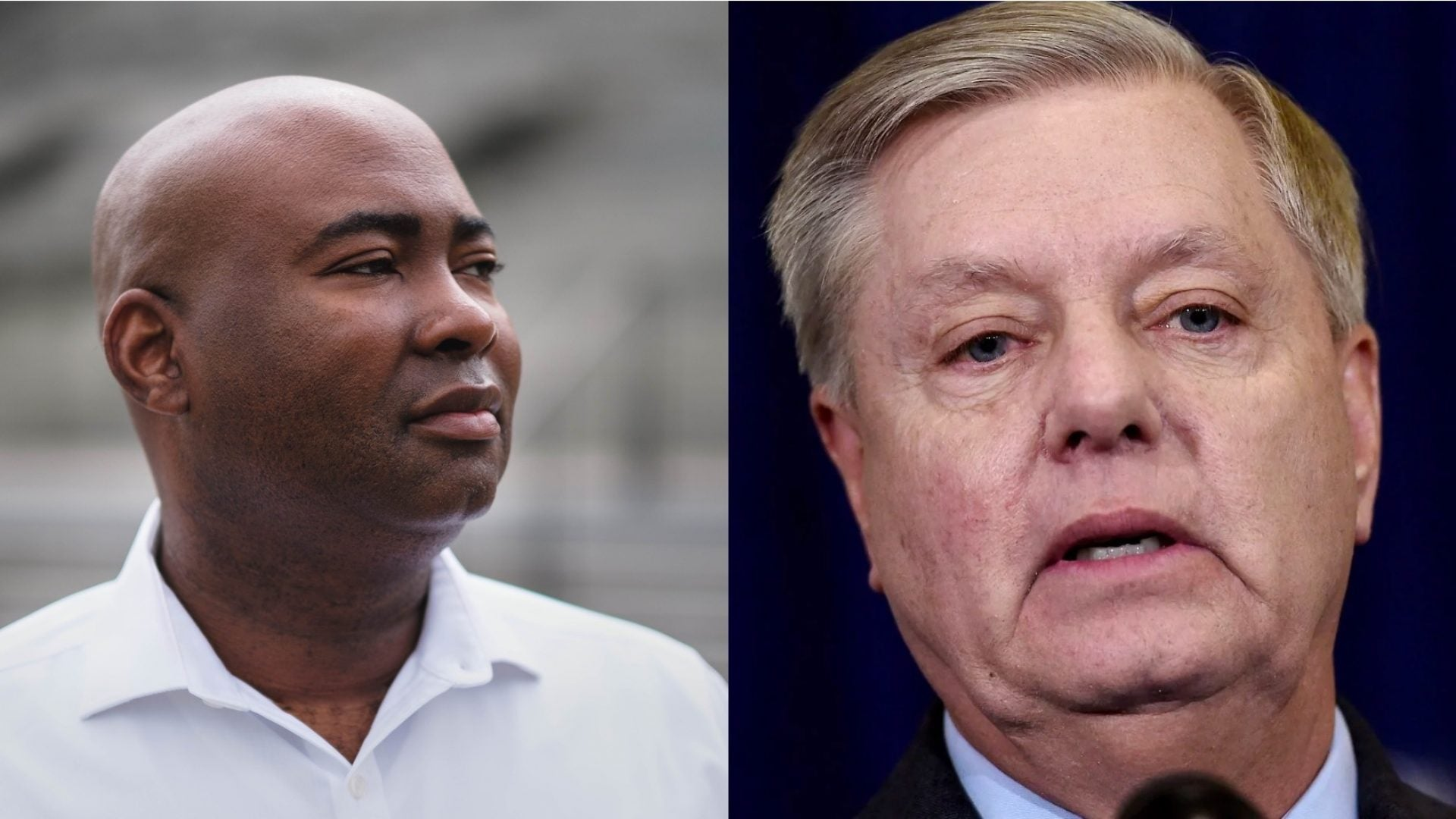Jaime Harrison Mocks Lindsey Graham And 'BFF' Donald Trump