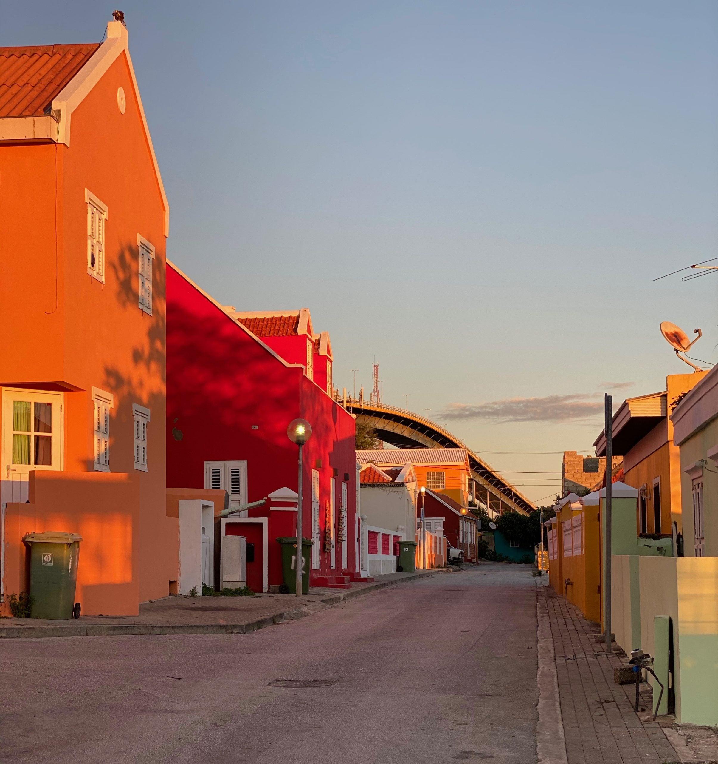 Street in Curacao
