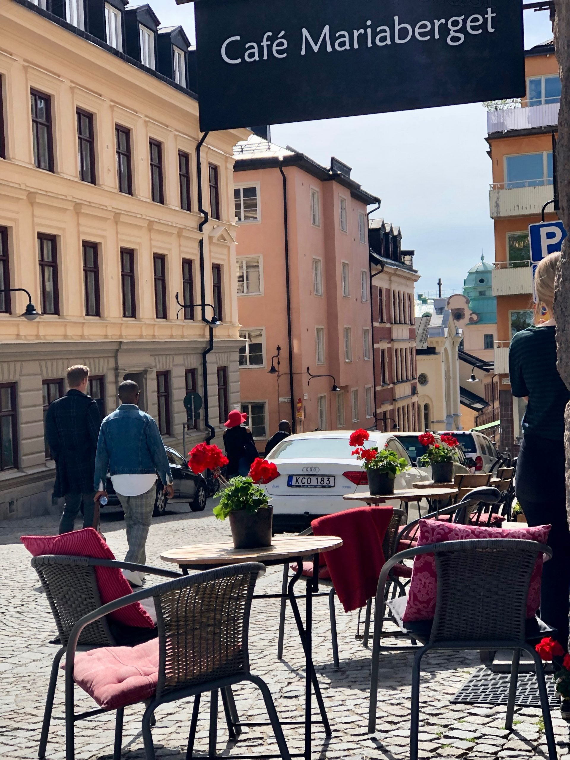 city streets in Stockholm