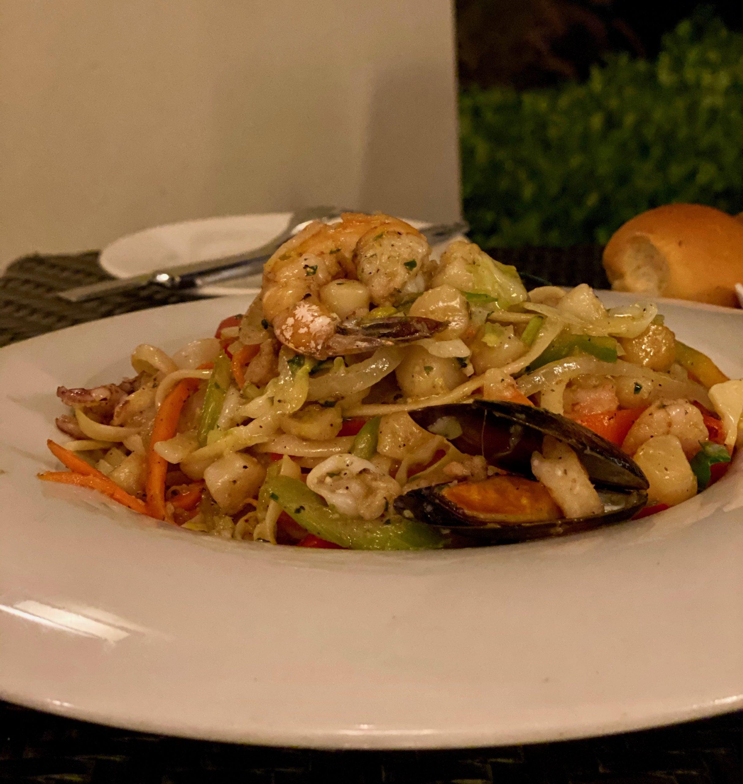 Dinner in Curacao