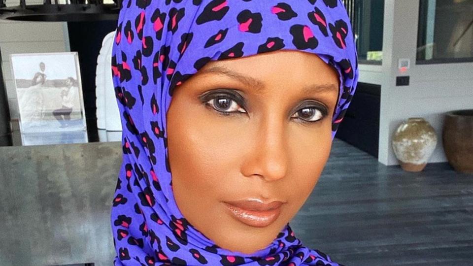Iman Celebrates Ramadan In Style