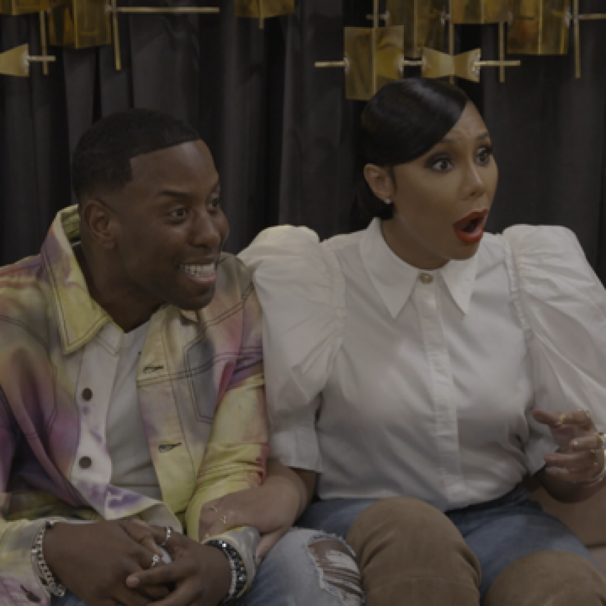 Tamar Braxton And Celebrity Hairstylist Johnny Wright Are Trying 'To Catch A Beautician'