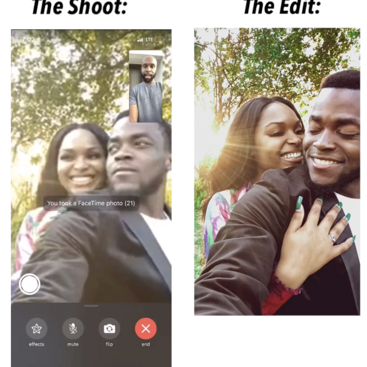 This Black Wedding Photographer Is Giving Couples Virtual Photoshoots During Coronavirus