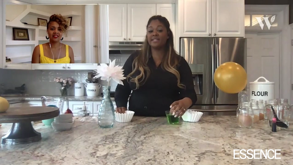 WATCH: Lifestyle Maven Rosalynn Daniels Shares A Quick DIY Activity That Your Kids Will Love