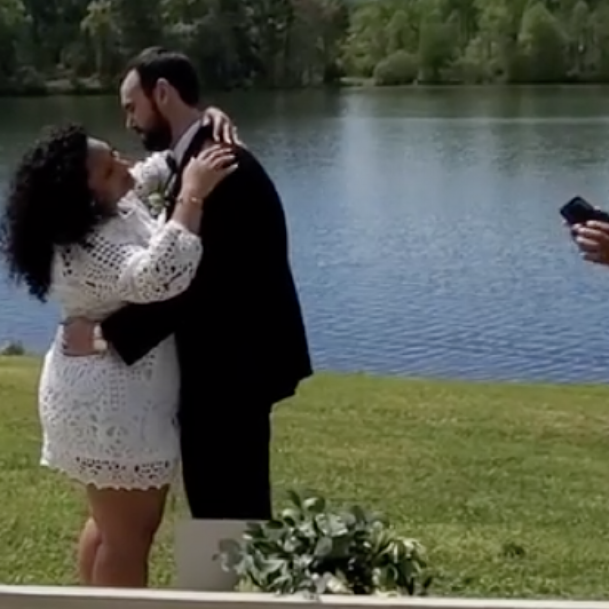 Watch: Singer Tony Terry Performs For Newlyweds Marrying During Social Distancing