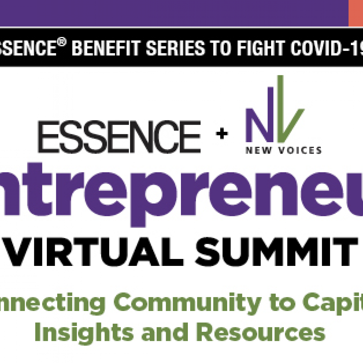 ESSENCE To Host Entrepreneur Virtual Summit & New Voices Pitch Competition