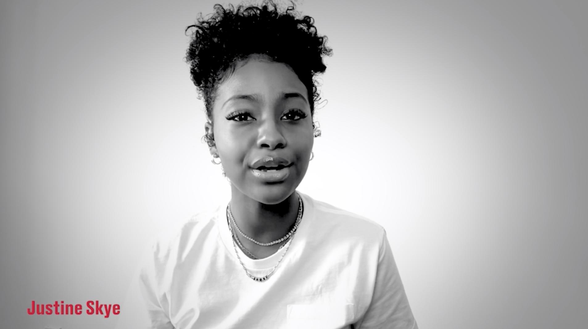 Justine Skye lends voice to Toyota #UsAgainstCovidAd