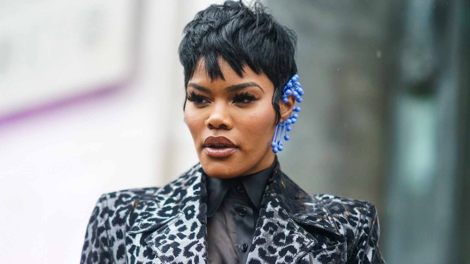 Teyana Taylor Is Working This Throwback Lipstick Trend