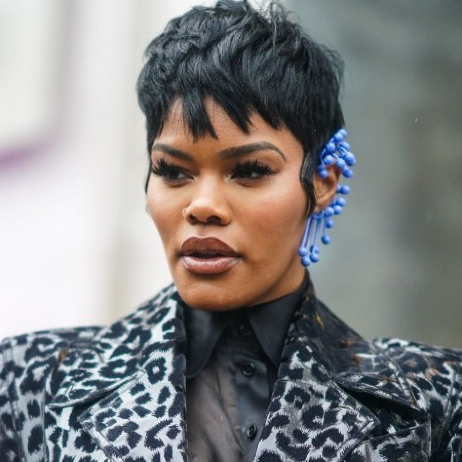 Teyana Taylor Is Working This Old Lipstick Trend In Missy Elliott's New Video