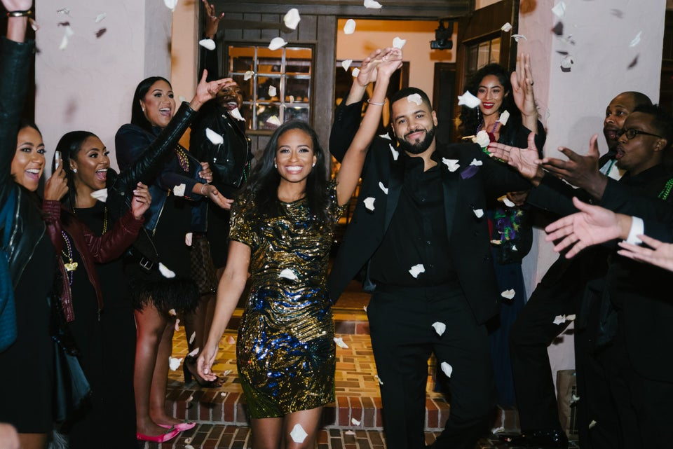 Bridal Bliss: Leslie And Gerard's Houston Wedding