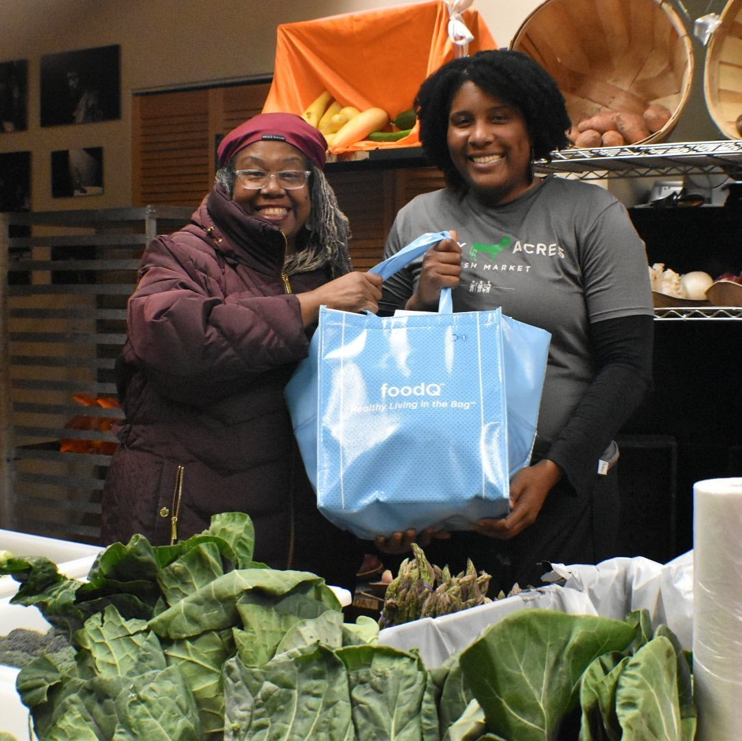 Forty Acres Fresh Market helps food-insecure families
