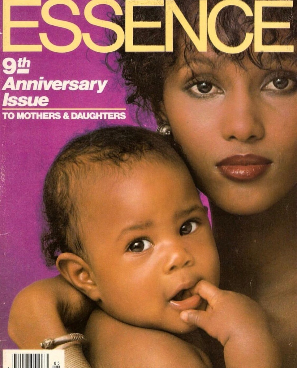 Sweet Motherhood Moments From ESSENCE Magazine Covers Through The Years