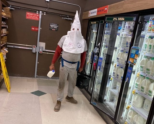 Colorado Police Searching For Man Who Wore KKK Hood To Grocery Store