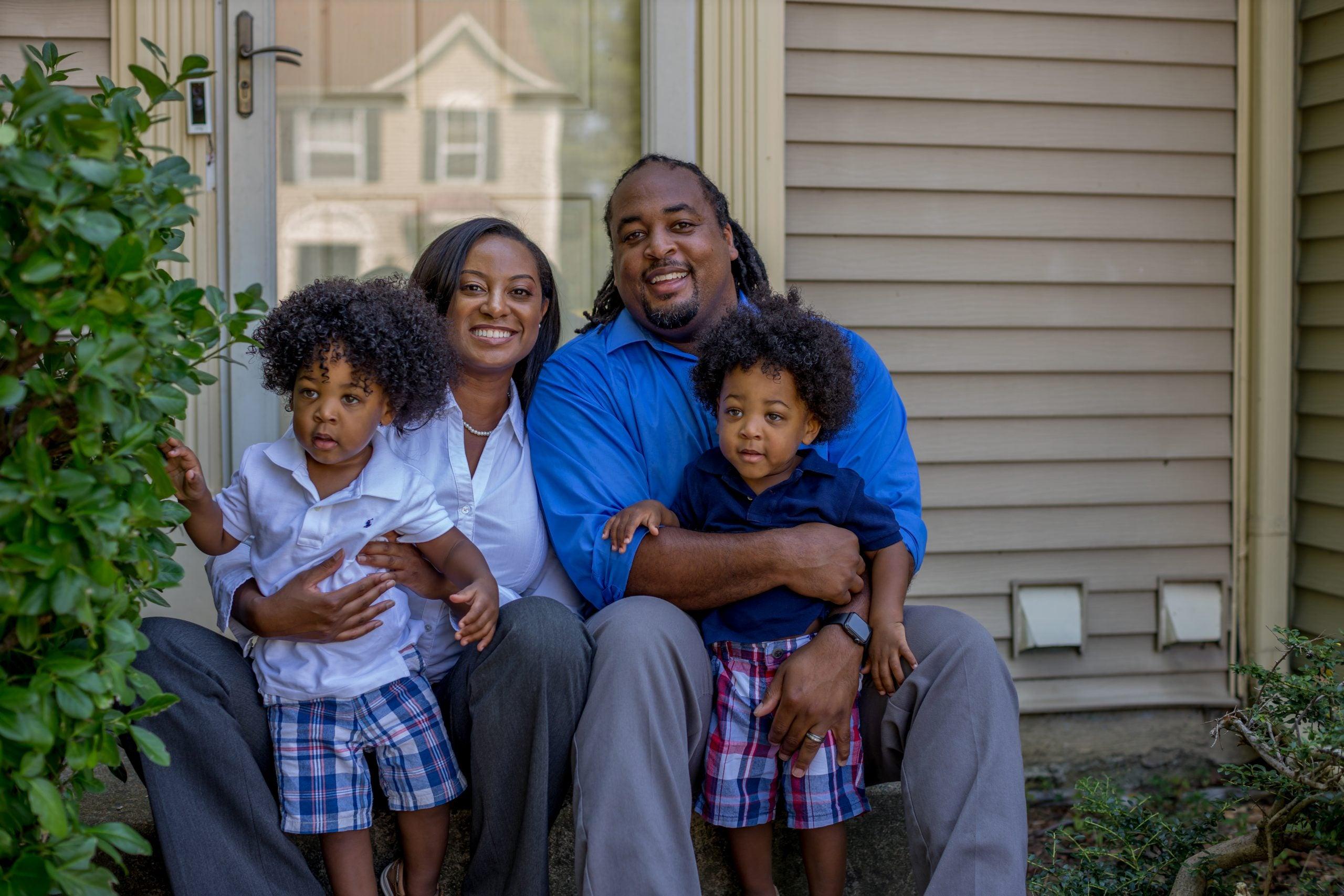 Jennifer Carroll Foy with family