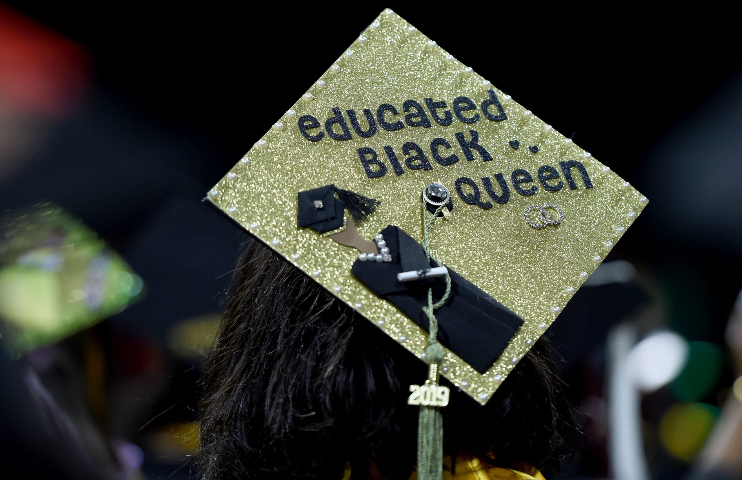 Black graduate. Karl Rove took issue with the words Barack Obama imparted on HBCU students.