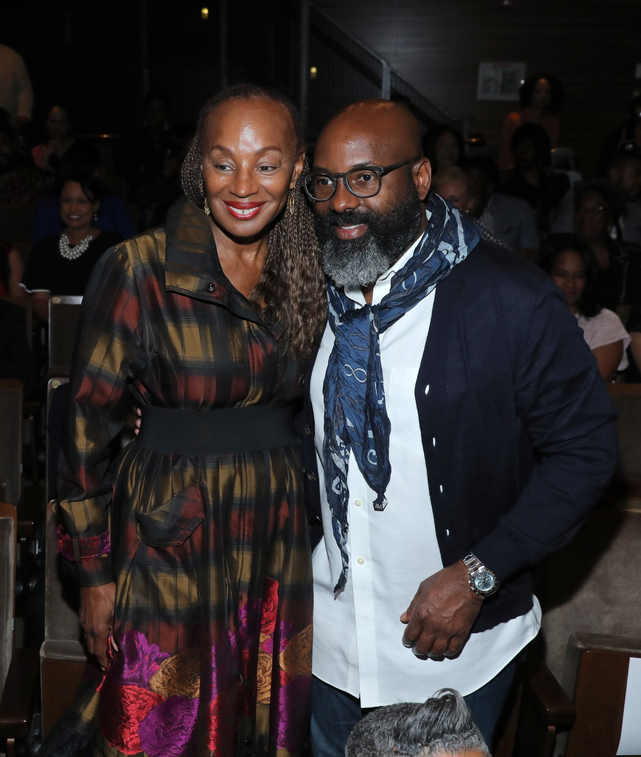 "Susan L. Taylor, Founder & CEO, National CARES Mentoring Movement; Editor-in-Chief Emerita of ESSENCE Magazine and Richelieu Dennis, ESSENCE Ventures Chairman attend ESSENCE & AT&T ""Humanity Of Connection"" event at New York Historical Society on June 10, 2019 in New York City. (Photo by Rob Kim/Getty Images for Essence)"