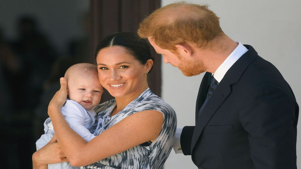 Meghan Markle and Prince Harry Celebrate Baby Archie's First Birthday