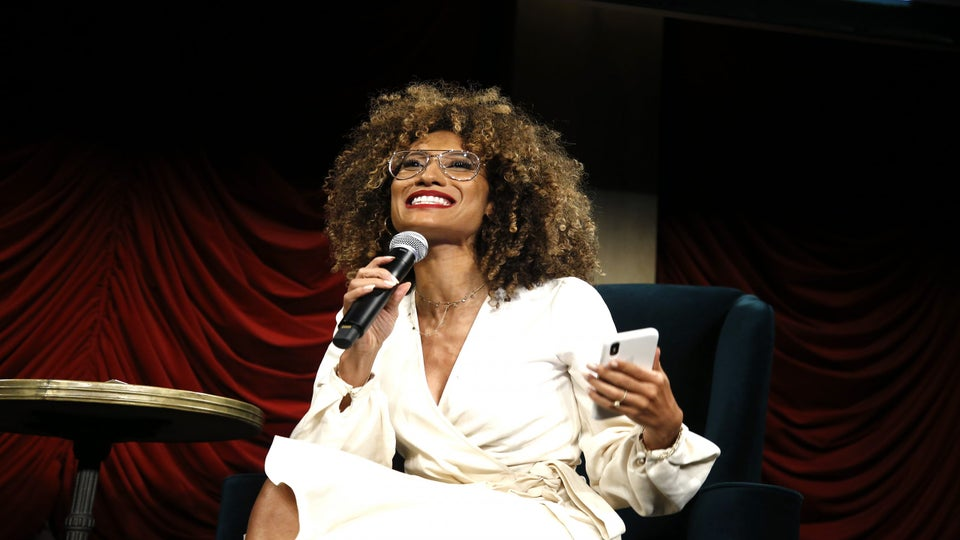 Love Is Not Canceled: 'Project Runway' Judge Elaine Welteroth Had The Most Epic Stoop Wedding